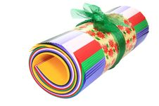 Free Colored Paper Roll Royalty Free Stock Photos - 4040748