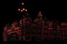 Free Mysore Palace In Dark-I Royalty Free Stock Image - 4041476