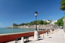 Free Caribbean Promenade Stock Images - 4041534