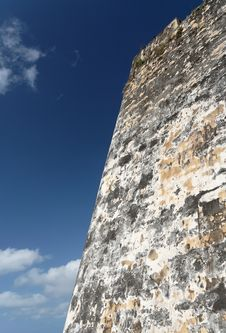 Free Caribbean Fortress Royalty Free Stock Photos - 4041648