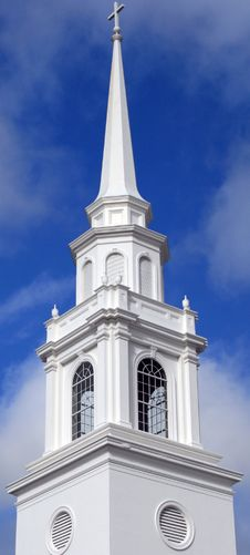 Free Elaborate Church Steeple Royalty Free Stock Photo - 4041975