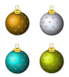 Free Christmas Tree Balls Stock Photo - 4041980