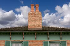 Free Classic Home Facade Stock Images - 4042264