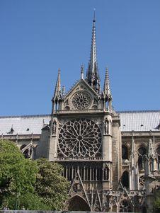 Free Notre Dame De Paris Royalty Free Stock Image - 4042546