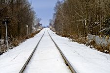 Free Railway Lines Stock Images - 4042644