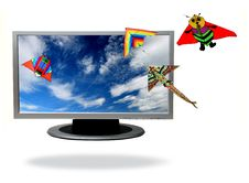 Free Lcd Television Royalty Free Stock Image - 4042696