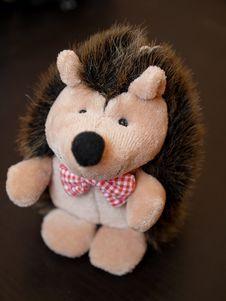 Toy Hedgehog Royalty Free Stock Photos