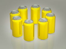 Soda Can 3d Stock Photo