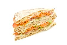 Free Vegetables Sandwich Royalty Free Stock Photography - 4043797