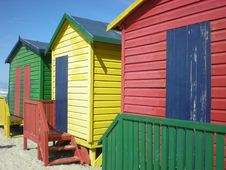Free Beach Huts Stock Photos - 4044173