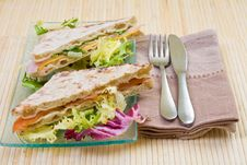 Free Vegetables Sandwich Stock Images - 4044244