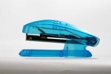 Free Blue Stapler Royalty Free Stock Image - 4044256