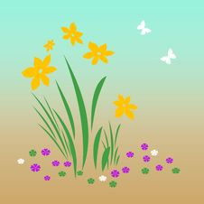 Free Spring Bloomers Royalty Free Stock Images - 4044739