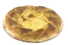 Free Baked Pie  With Egg Stock Image - 4044991