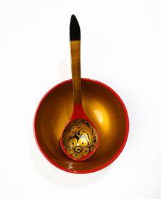 Free Wooden Dish Stock Photo - 4045280