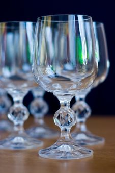 Free Wine Glasses Royalty Free Stock Images - 4045379