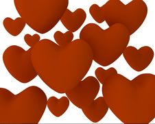 Free Hearts Royalty Free Stock Images - 4046539