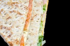 Free Vegetables Sandwich Royalty Free Stock Image - 4046826