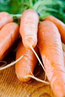Free A Bunch Of Carrots Stock Photography - 4046872