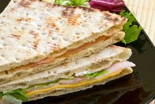 Free Vegetables Sandwich Royalty Free Stock Photography - 4046877