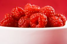 Free A Dish Or Raspberries Stock Photos - 4046903