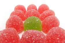Free Colour Fruit Candy Royalty Free Stock Photo - 4047015