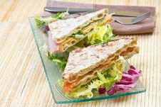Free Vegetables Sandwich Stock Photography - 4047092