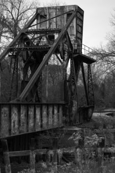 Free Train Bridge Royalty Free Stock Photography - 4047637