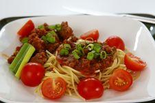 Free Spaghetti Royalty Free Stock Photo - 4048435