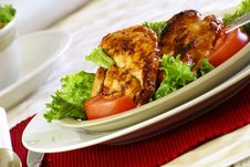 Free Barbecue Chicken Royalty Free Stock Photo - 4048545