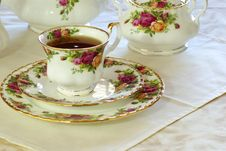 Free Tea Time Royalty Free Stock Photo - 4048575