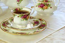 Free Tea Time Royalty Free Stock Photo - 4048575