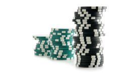 Free Stacks Of Gambling Chips Royalty Free Stock Images - 4049309