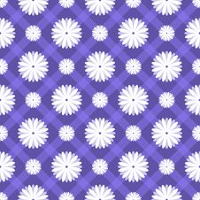 Free Floral Seamless Pattern. Vector Illustration Royalty Free Stock Image - 40443446