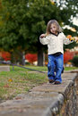 Free Girl Outdoor Fall Season Royalty Free Stock Images - 4050139