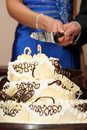 Free Cutting Cake Royalty Free Stock Photography - 4055057