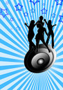 Free Dancing On A Speaker Royalty Free Stock Photos - 4055118