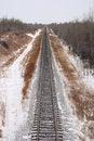 Free Railroad Tracks Royalty Free Stock Photo - 4058455