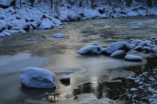 Free Snowy River Royalty Free Stock Photography - 4050237