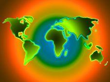Free World Map Stock Photography - 4050582