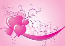 Free Valentine Ribbon Royalty Free Stock Photography - 4050997