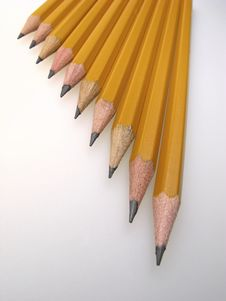 Free Pencils Royalty Free Stock Photo - 4051225