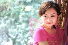 Free Pink Girl Stock Image - 4052021