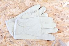 Free Working Gloves Royalty Free Stock Photo - 4052145