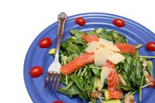 Salad From Seafoods 2 Stock Photo
