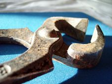 Free Rusty Clamp Stock Photo - 4053560