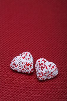 Valentine Heart Couple Royalty Free Stock Photography