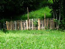 Free Fence In Nature Royalty Free Stock Photo - 4054285