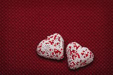 Valentine Heart Couple 2 Royalty Free Stock Images