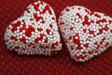Free Valentine Heart Couple 3 Stock Image - 4054431